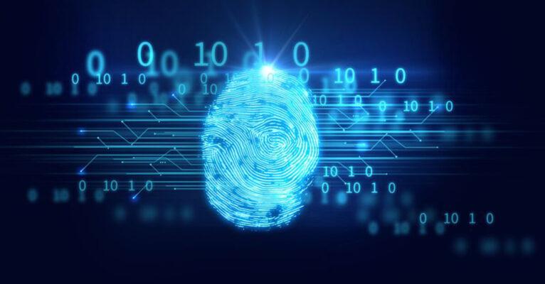 fingerprint on blockchain