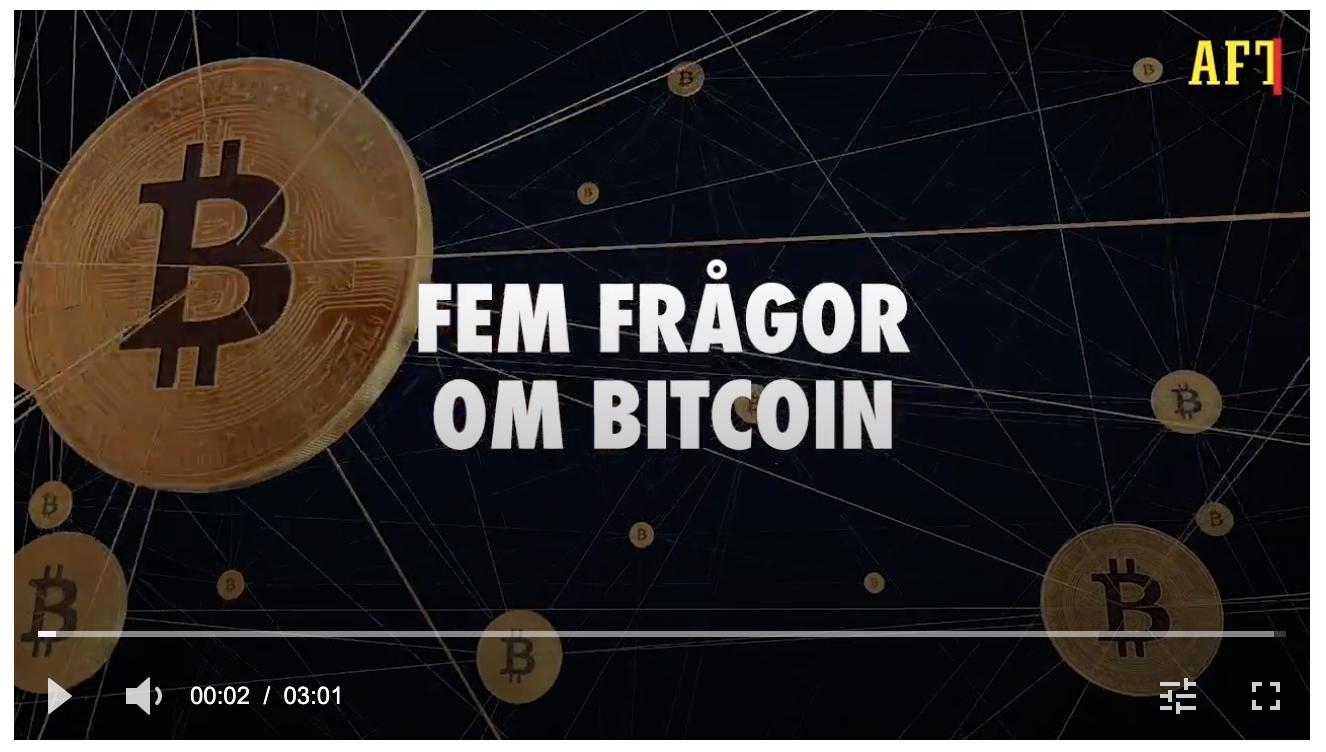 Aftonbladet video med Btcswe